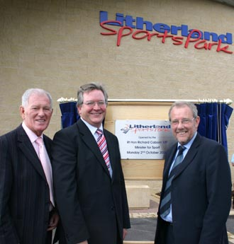 Caborn opens Litherland Sports Park