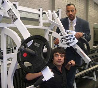 New weights facility opens at Harry Mitchell centre