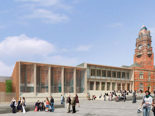 Levitate are behind the designs of the new Victoria Leisure Centre