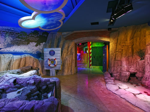 UK-based Kay Elliott were behind the design of Sea Life Jesolo