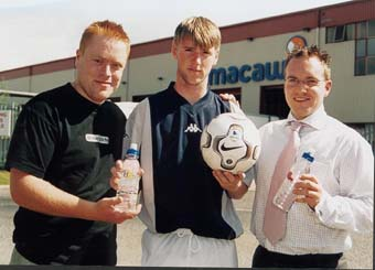 Macaw Soft Drinks and Blackburn Rovers in 'Soccer Idols' partnership