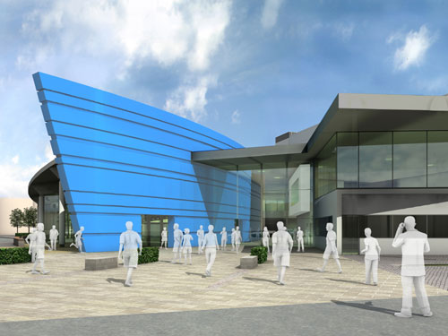 Trust to run new Bletchley Leisure Centre
