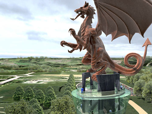 Waking the Dragon will provide a 'cultural gateway' to North Wales