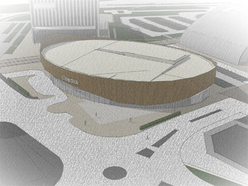 Corby's new cinema is poised to feature a curved design