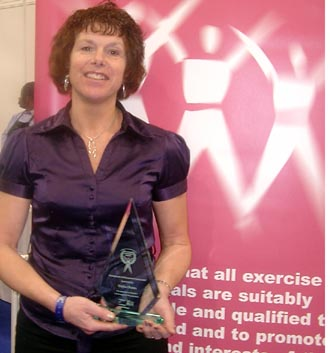 Elaine Roles wins REPs' exceptional achievement award