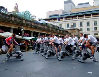 Jubilee Hall Clubs Spin fitness in Covent Garden