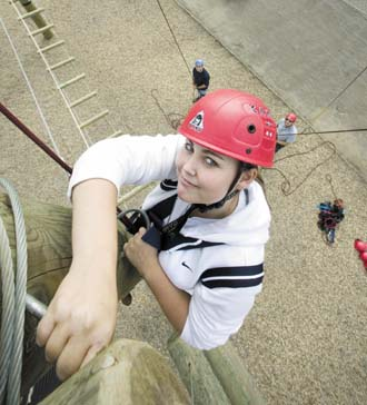 Gateshead Council launches aerial assault course