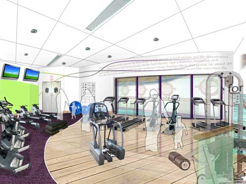 Pavilion Leisure Centre will boast a 100-station active lifestyle gym