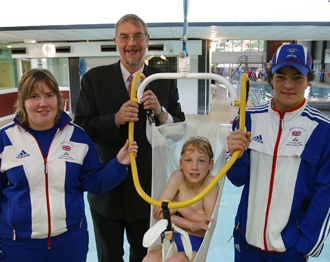 Wigan Leisure unveils newly accessible Hindley Pool