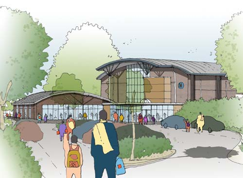Ramsgate's new pool will incorporate a spa