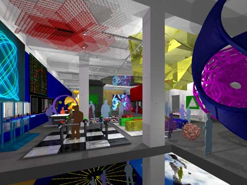 The Museum of Mathematics will be located in central Manhattan