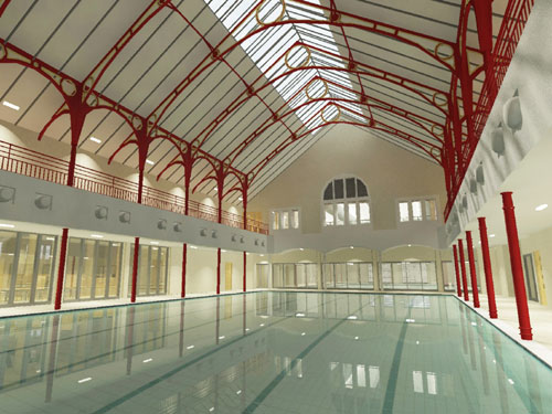 Dunfermline leisure centre nears completion