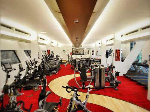 New-look gym for London college facility