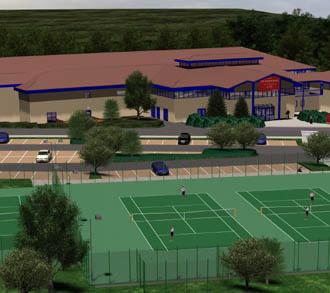 Peterborough tennis facility plans revealed