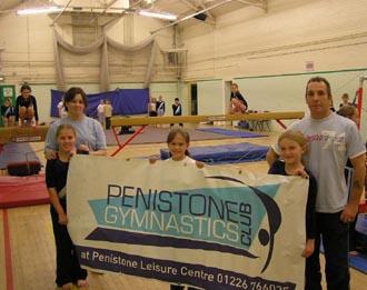 Gymnastics club benefits from cash injection