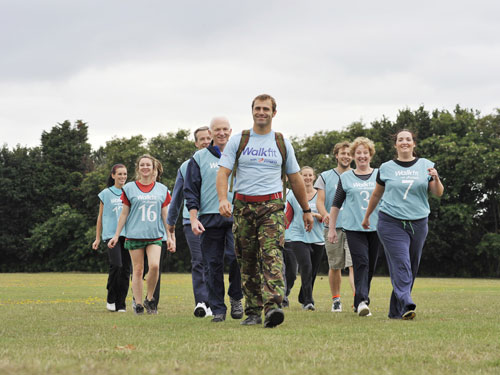 BMF launches Walkfit classes in London