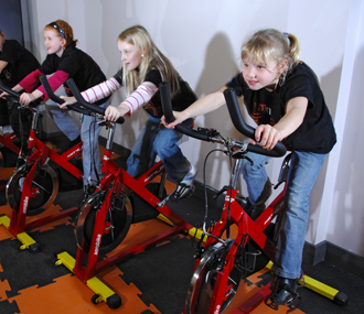 Children's only gym opens at Cadbury House