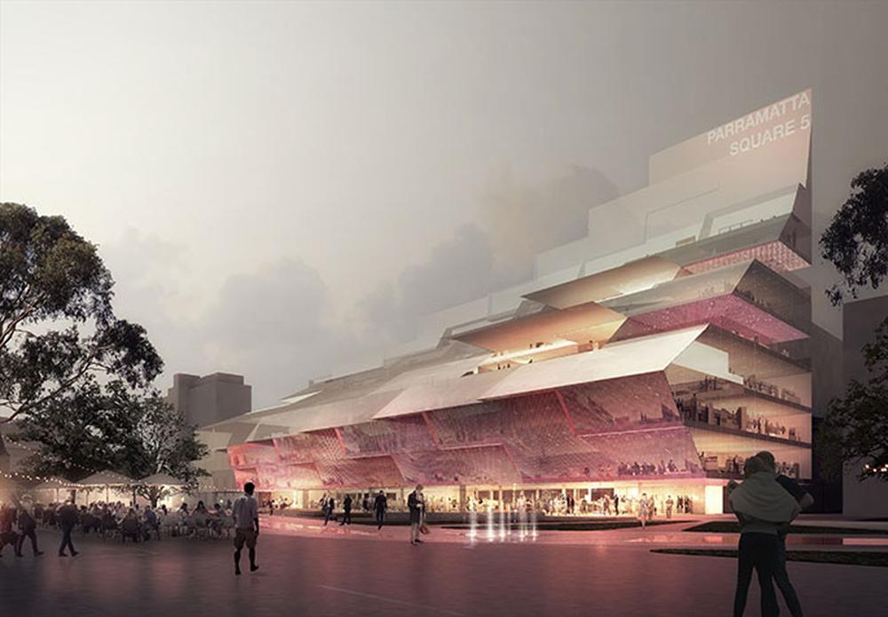 The AU$50m (US$39m, €34m, £27m) will have a floor area of 8,000sq m / Parramatta City Council