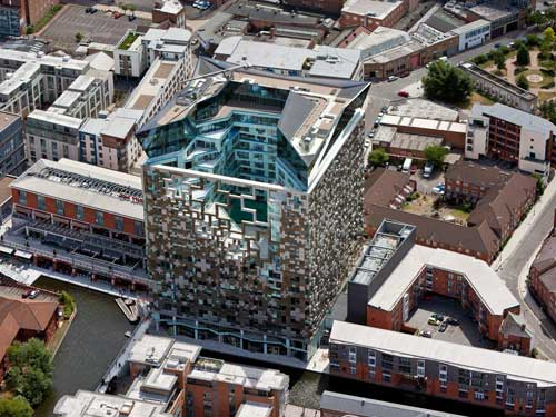 The Cube will be located in the heart of Birmingham city centre