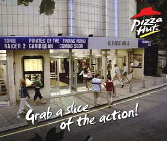 Pizza Hut Announces New Uk Cinema Partnership