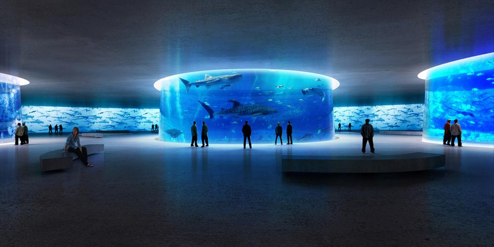 Competition organisers Arch Out Loud believe an aquarium could revitalise the New York borough of Queens / Arch Out Loud/Lissoni Associati