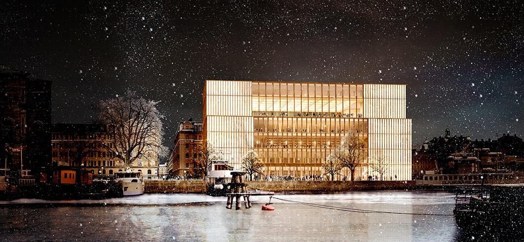 The building will host the Nobel Prize and house a Nobel museum  / Nobel Center