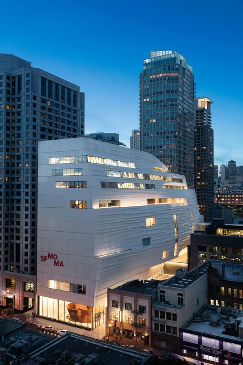The architects had to overcome the challenge of building in a very tight urban space / SFMOMA