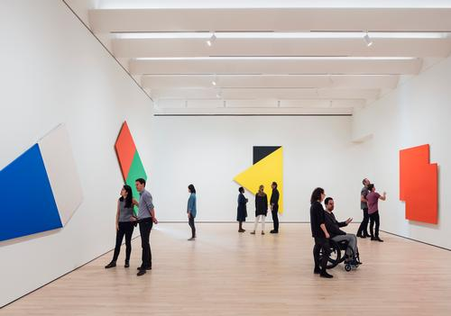 The museum's exhibitions will showcase works from artists such as Chuck Close, Ellsworth Kelly, Lee Krasner, Roy Lichtenstein, Agnes Martin and Andy Warhol / SFMOMA