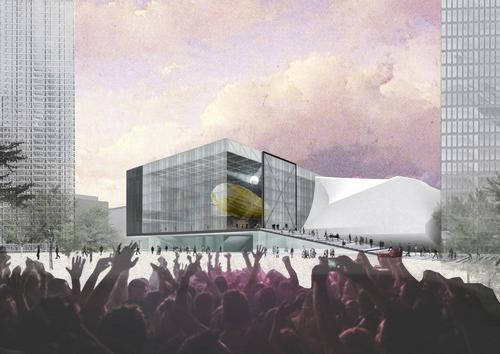 The Factory will be a dynamic cultural hub for the north of England / OMA