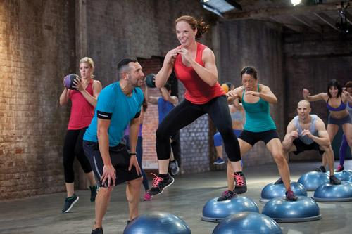 Fitness industry group exercise leaders create Bosu 3dxtreme