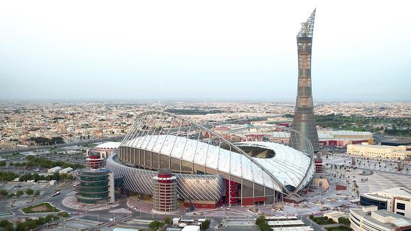 Khalifa International Stadium will keep the stands below 28°C