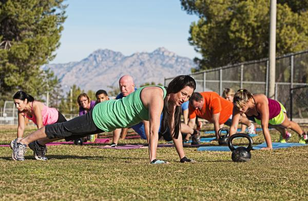 A focus on group exercise: People want to work out with other people / Photo: shutterstock.com