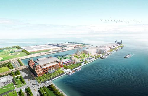 James Corner Field Operations have been revamping the pier since winning an international design competition for the US$278m project in 2012 / James Corner Field Operations, courtesy of Navy Pier Inc