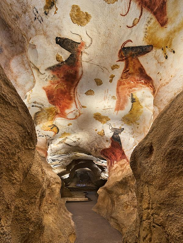 A near-perfect replica of the Lascaux caves has been created by the design team and local artists / Image: Boegly +Grazia