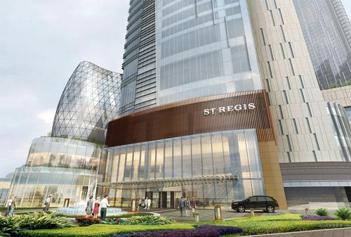 St. Regis Chengdu debuts with an Iridium Spa