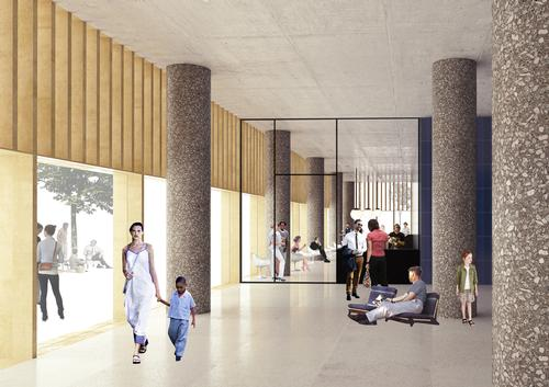 Chipperfield said: 'It's always interesting to design buildings with a public dimension' / David Chipperfield Architects