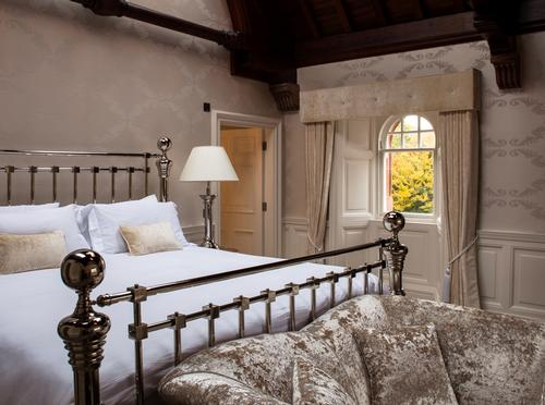 The bridal suite at Fonab Castle Hotel