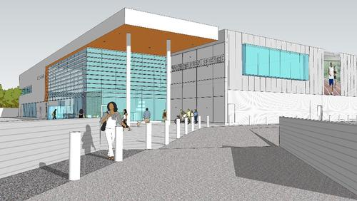 The proposed £9.4m leisure centre would be built in Workington town centre / Allerdale Council