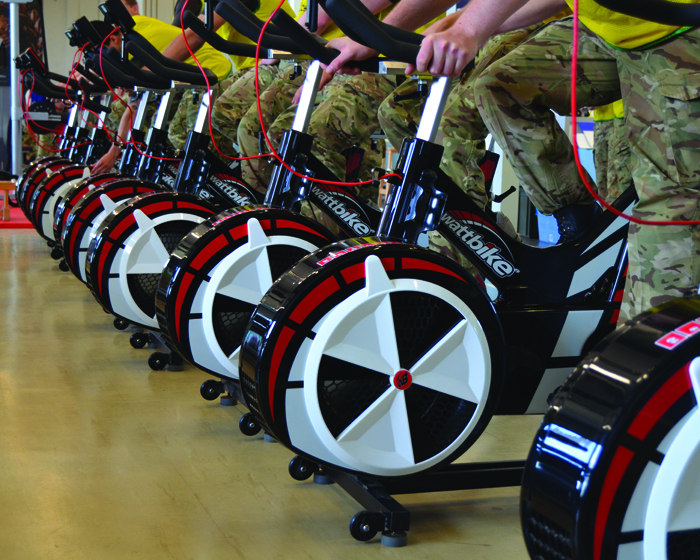The British Army said the bikes gave a real sense of purpose to training