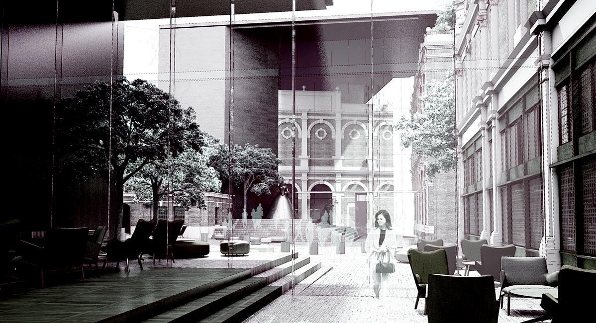 Museum of London concept by Studio Milou / Images copyright Malcolm Reading Consultants / Studio Milou