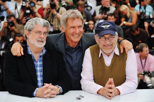 George Lucas created the Indiana Jones and Star Wars franchises