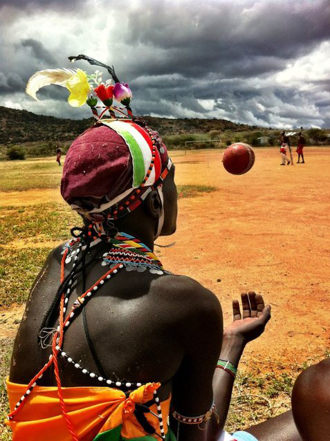 In Kenya, playing cricket has united rival communities