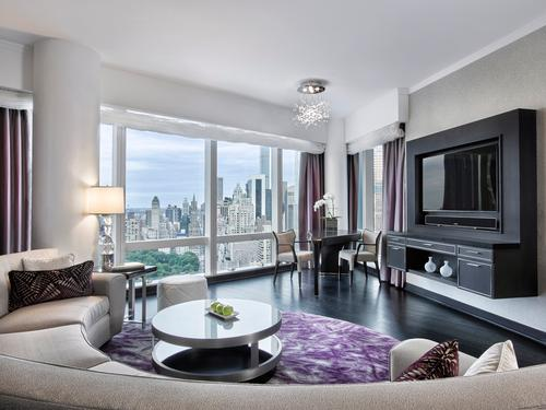 The HOK Designed One And Two Bedroom Suites Feature Panoramic Views Of The Ne