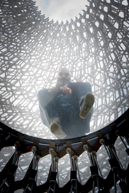 Buttress' creation created quite a stir at the 2015 Milan Expo, where it was one of the most popular attractions / Jeff Eden, RBG Kew