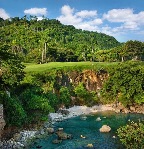 The Playa Grande Golf Course, originally designed by architect Robert Trent Jones, Sr., has been revived by Jones' son, Rees Jones / Aman