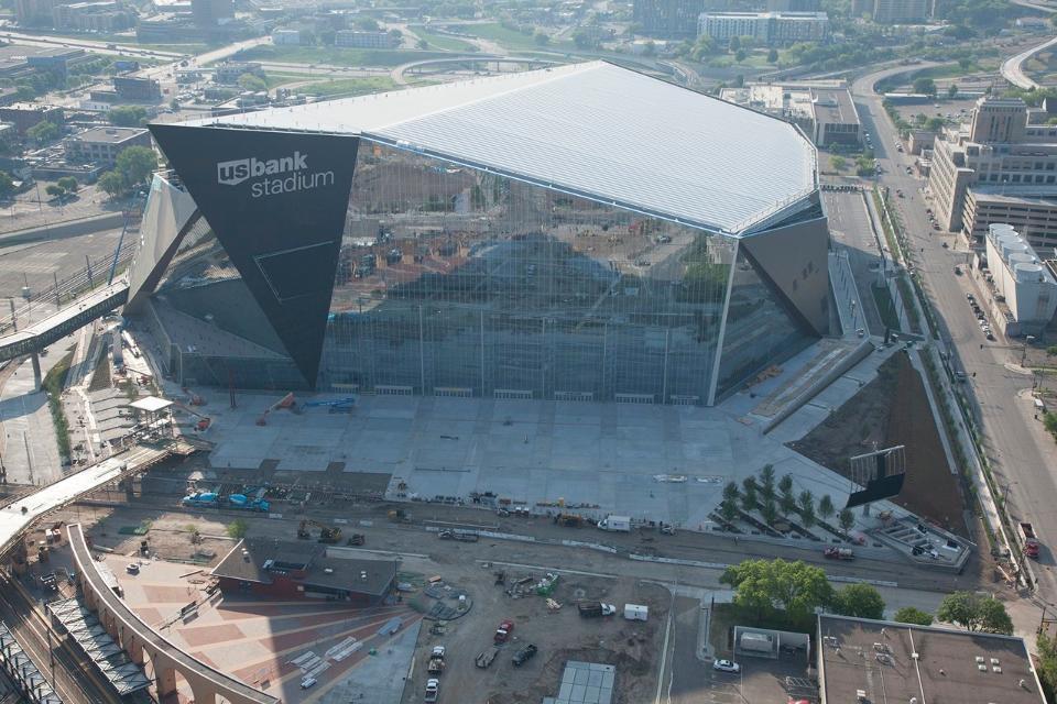 Minnesota Vikings Move Into Us 1bn Stadium By Hks
