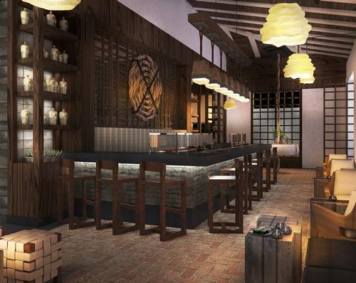 Food and beverage offerings will include four globally-infused gourmet restaurants, five bars and lounges, and an on-site distillery or brewery