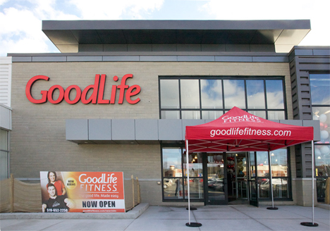 GoodLife Fitness, Canada's largest health club chain, currently has over 300 clubs across the country