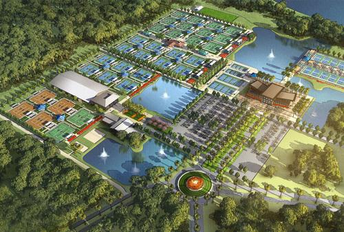 The new centre will seek to further the progression of tennis in America / USTA