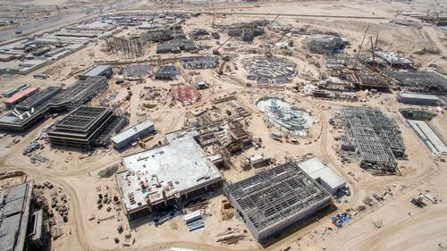 The theme park is currently under development with an opening date set for October 2016 / Dubai Parks & Resorts
